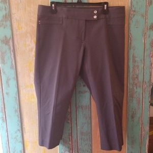Crop Alfani grey pants